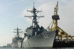 Cận cảnh tàu chiến Mỹ điều đến Biển Đông