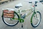 Cận cảnh chiếc xe đạp tuần tra của Công an Hà Nội