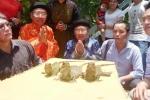 Chuyện lạ ở Thanh Hóa: Cả họ vái 3 con rồng đất