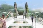 Thiết kế huyền ảo của cây cầu kính dài và cao nhất thế giới
