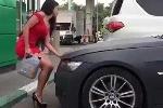 Clip chứng minh 'bán xăng cho phụ nữ là tội ác'