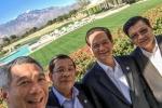 Thủ tướng Singapore selfie với Thủ tướng Nguyễn Tấn Dũng, Thủ tướng Campuchia gây 'sốt'