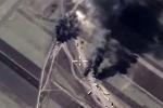 Nga oanh kích khốc liệt, đoàn xe chở dầu IS tan tành