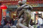 'Đỏ mặt' với những bức tượng khỏa thân giữa công viên Trung Quốc