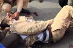 Video: Lời kể nhân chứng vụ xe tải đâm CSGT trọng thương
