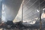 Hơn 3 giờ vật lộn dập đám cháy kinh hoàng