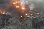 Thêm vụ nổ nhà máy hóa chất ở Trung Quốc