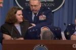 Tướng Mỹ ngã gục trong buổi họp báo tại Lầu Năm Góc