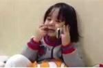 Clip bé gái gọi điện cho thầy giáo của anh trai khiến mạng xã hội 'dậy sóng'