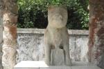 Kỳ bí quanh bức tượng 'thần cẩu' ở Huế
