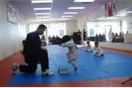 Clip: Bé 3 tuổi tập taekwondo siêu dễ thương