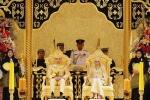 Cận cảnh đám cưới xa hoa toàn vàng bạc của Hoàng tử Brunei
