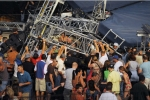 Video gió lốc bẻ gãy sân khấu, hơn 40 người thương vong