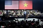 Yêu cầu bất ngờ trước giờ ông Obama trò chuyện với 800 thủ lĩnh trẻ Việt Nam