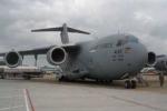 Máy bay Boeing C17 trong đoàn của Tổng thống Obama vừa rời TP.HCM