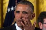 Tổng thống Obama bật khóc khi chia tay nhân viên, khẳng định có thể tái đắc cử lần ba