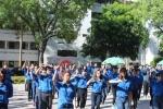 Gần 500 sinh viên ĐH Ngoại thương nhảy flashmob ra quân tình nguyện