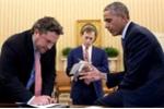 Danh tính người viết diễn văn từ biệt cho Obama