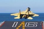 Máy bay J-15 Trung Quốc rơi vỡ nát khi luyện tập, phi công tử nạn
