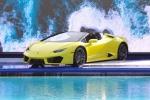 Siêu xe Lamborghini Huracan LP580-2 Spyder chốt giá 26 tỷ đồng