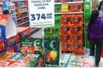 Sợ đầu cơ, siêu thị treo biển hạn chế mua bia Tết