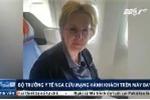 Bộ trưởng Y tế Nga cứu mạng hành khách trên máy bay