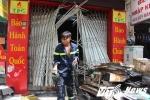 Hiện trường ngôi nhà cháy khiến 4 người chết giữa Sài Gòn