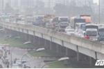 Tai nạn liên hoàn, đường trên cao Hà Nội tê liệt