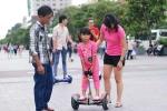 Hái ra tiền với dịch vụ cho thuê xe điện cân bằng ở Sài Gòn