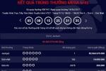 Vé số trúng Jackpot hơn 82 tỷ phát hành tại An Giang