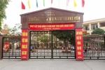 Hiệu trưởng tiểu học Nam Trung Yên vắng mặt khi công bố quyết định cách chức