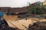 Tìm thấy thi thể 2 cha con đi thả lưới bị nước cuốn trôi ở Quảng Bình