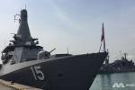 Chiến hạm hàng chục nước tụ họp ở Singapore, chuẩn bị duyệt binh hàng hải