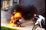 Sẽ xử lý người đốt xe máy gần bốt CSGT ở Thái Bình ra sao?