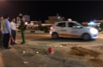 Thiếu tá CSGT bị xe tải cán chết: Bám kính chiếu hậu và trượt ngã