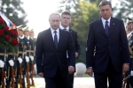 Putin dự lễ khánh thành tượng đài người lính Xô Viết ở Slovenia