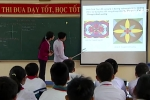 Tròn mắt xem tiết học tích hợp Toán - Lý - Vẽ - Sinh sáng tạo của cô giáo nông thôn
