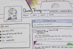 Học sinh lập Facebook cho vua Quang Trung