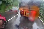 Xe tải vượt ẩu phóng bạt mạng, gây tai nạn thảm khốc trên đèo Bảo Lộc