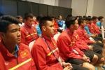 U20 Việt Nam họp kín lên phương án chống U20 Pháp
