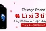 Mua iPhone 'xịn' trúng SH 150i ABS 'đỉnh' tại Thế Giới Di Động
