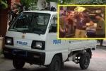 Ông Tây chặn xe công an phường đi xe vào phố đi bộ, luật sư lên tiếng