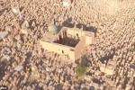 Toàn cảnh nghĩa địa 1.400 năm tuổi, lớn nhất thế giới nhìn từ trên cao