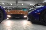 Siêu xe Pagani Huayra khoe dáng trong hầm để xe của Minh Nhựa
