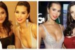 Hà Anh khoe vẻ đẹp nóng bỏng bên Hoa hậu Hoàn vũ và Hoa hậu Mỹ