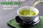 Uống trà xanh đúng cách để giảm cân