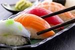 Cẩn thận ăn sushi dễ bị nhiễm giun ký sinh