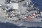 Tàu khu trục Mỹ bị tàu hàng Philippines đâm thủng: Giả thiết nào hợp lý nhất?