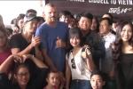 Huyền thoại võ thuật Chuck Liddell đang ở Việt Nam