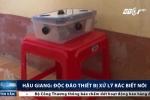 Học sinh Hậu Giang sáng chế thiết bị xử lý rác biết nói
